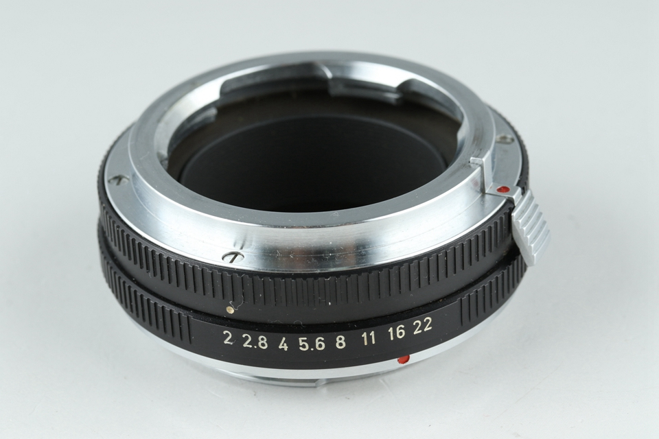 Leica Leitz OUBIO for Visoflex Screw to M + Leica Leitz 14127F for M to R #21485