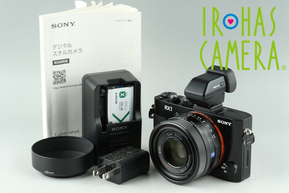 Sony Cyber-Shot DSC-RX1 Digital Camera With Box*Japanese Language Only* #22134