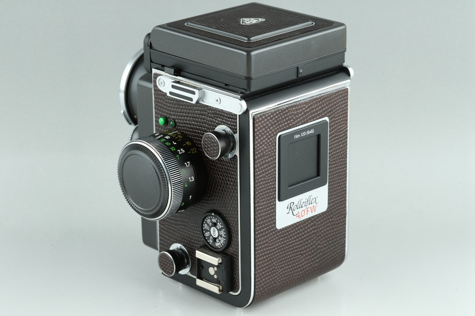 Rollei Rolleiflex 4.0 FW Medium Format TLR Film Camera #22880