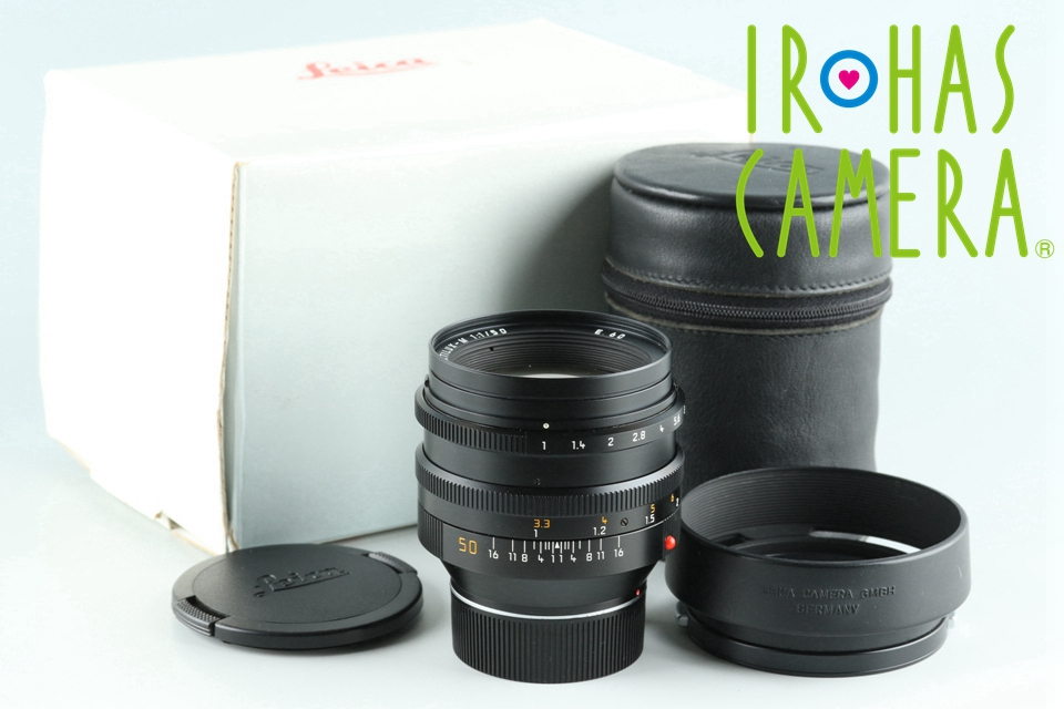 Leica Noctilux-M 50mm F/1.0 E60 Lens With Box #26451