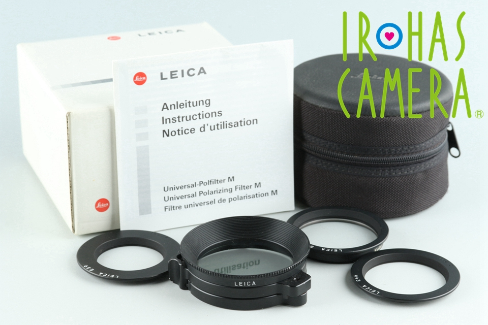 Leica 13356 Universal Polfilter M With Box #26790
