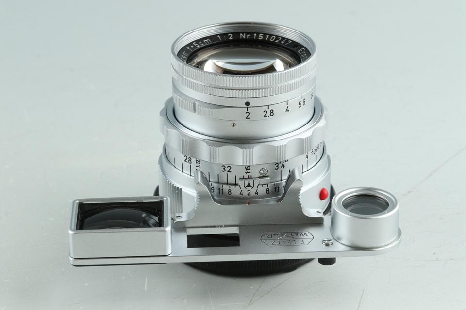 Leica Leitz DR Summicron 50mm F/2 Lens for Leica M #31098T
