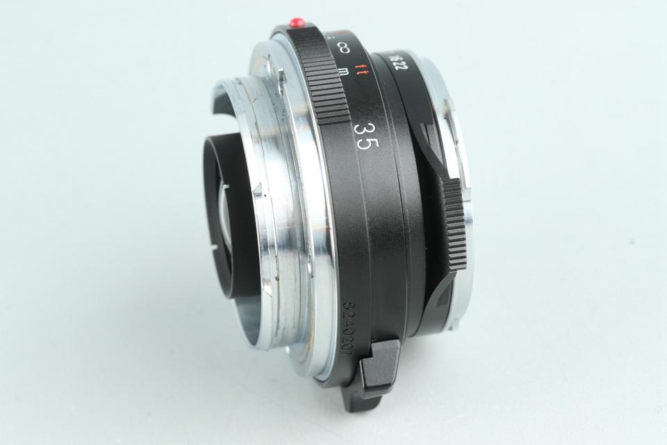 Voigtlander Color-Skopar 35mm F/2.5 Lens for Leica M #32236