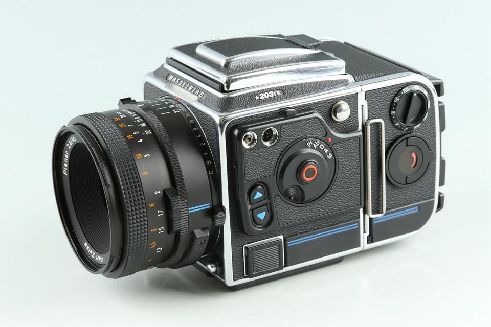 Hasselblad 203FE + Planar T* 80mm F/2.8 F Lens + E12 #33769