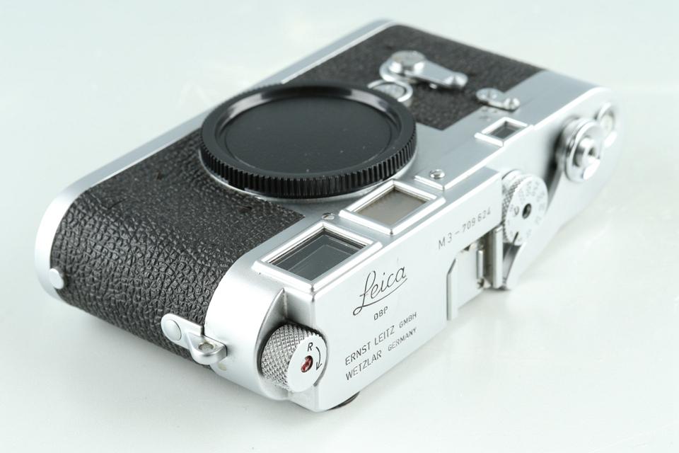 Leica Leitz M3 35mm Rangefinder Film Camera *Double Stroke* #34240